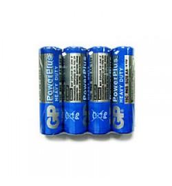 Батарейка GP 15С-S4 Power Plus R6, AA, 4 шт. трей 4/40 /, ціна за 4 шт. пальчик