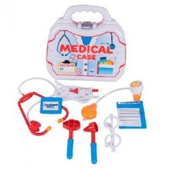 Набор медицинских принадлежностей в чемодане доктор 270х95х260 мм кол.в уп.7 шт