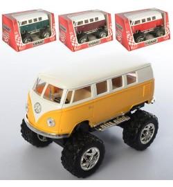 Машинка KT 5060 WB (24шт) металл,инер-я, 12,5см, резин.колеса, открыв.двери, 4цв,в кор-ке,16-8,5-9с
