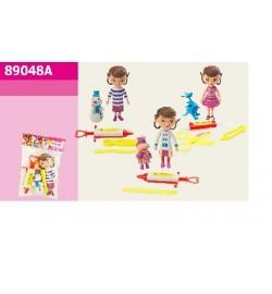 Герої 89048A (288шт / 2) 2 героя + аксесс, 3 види, в пакеті 19 * 13см лялька лікар