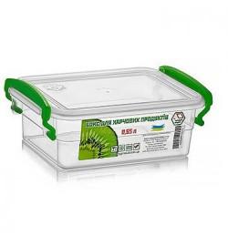 Контейнер пласт. для харчових продуктів з ручками 550мл 11х15.5х6см NP-51 (36шт)