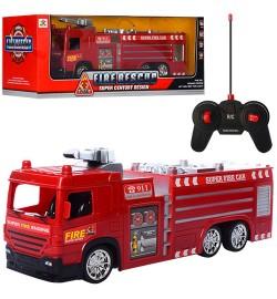 Пожарная машина 5330-1-2 (24шт) р/у, 33см, свет, на бат-ке, в кор-ке, 44-14,5-15см