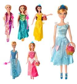 Кукла BLD046-6-7 (288шт) DP, 29,5см, аксессуар, 6 видов, в кульке, 11-37-4см
