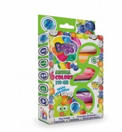 Набор тесто для лепки ТМ LOVIN'DO 6 цветов Арома