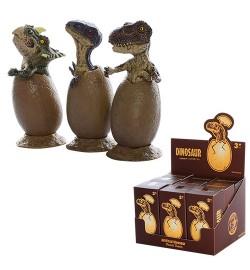 Яйцо AK68632 (540шт) динозавр, 6см, на подставке, в кор-ке, 9шт(микс видов) в дисплее, 13-11-9см