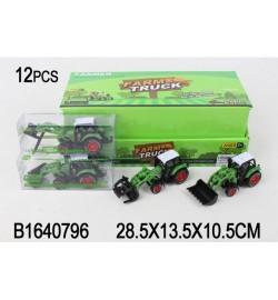 Трактор 955-100 (432шт) инер-й,13см,стройтехн/сельхоз,в слюде,12шт(4вид)в дисплее,29-14-10,5см
