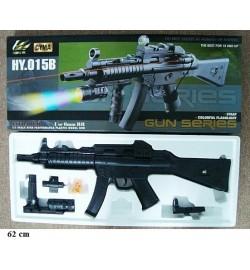 Автомат CYMA HY015B с пульками,лазер,свет.кор.66*27*7 H120309500 /18/