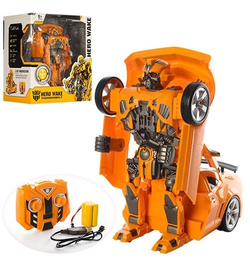 Трансформер 28168 (8шт) TF, г / у, аккум, 27см, робот + машина, звук, світло, в кор-ке, 36-34,5-25,5см