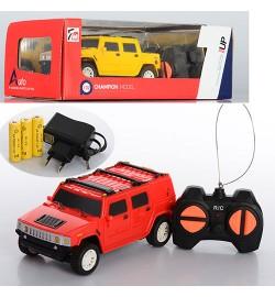 Машина 7M-324 (48шт) р/у, аккум,1:32,14,5-6,5-5см,рез.колеса,2цвета,в кор-ке,24,5-12,5-9см