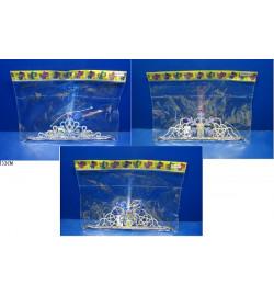 Аксессуары для девочек 4838-7A/5A/6A (720шт/2) 3 вида, корона, светятся кисточки, в пакете 32см