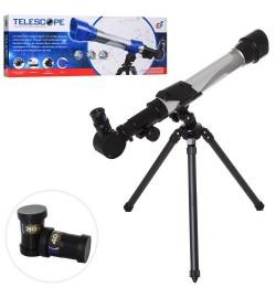 Телескоп C2131 (24шт) 38-43см. штатив, збільшення в 20,30,40 раз, в кор-ке, 50-19-7,5см