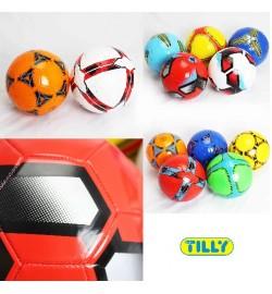 Мяч футбольный BT-FB-0149 PVC 280г 2-х слойный 12в.ш.к./100/