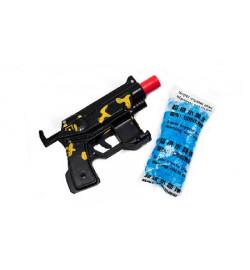 Автомат 696-5 (360шт/2) с гелиев пулями, 3 цвета, в пакете 15*10см