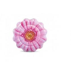 Матрас 58787 (6шт) Розовый цветок, 142-142см, ремкомплект, в кор-ке, плотик