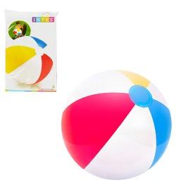 Мяч 59020 (36шт) полоски, 51см, в кульке, 15,5-25-1см