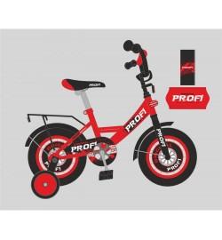 Велосипед детский PROF1 16д. Y1646 (1шт) Original boy,красно-черн.,звонок,доп.кол