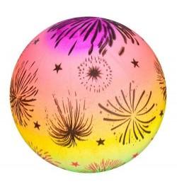 М'яч дитячий MS 1927 (240шт) веселка, малюнок, 70г, 28см, в кульку
