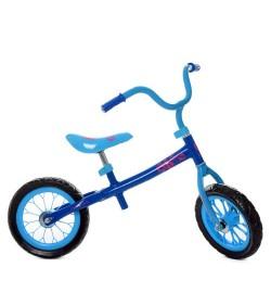 Беговел M 3255-2 (1шт) два колеса 12д.,голубой, колесо EVA, д83-ш48-в65см,в кор-ке,