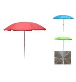 Зонт пляжный ромашка d1.8м серебро (однотон) MH-2686 (12шт)
