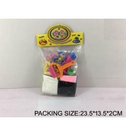 Набор для творчества 5990 (108шт) пластилин-суперлегкий, формочки, в пакете 23,5*13,5*2см
