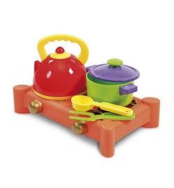 УЦЕНКА набор посуды с газовой плитой