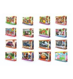 Пазлы  22814, LEO 20 эл  32 шт в блоці, 12 блоків в упаковці, 384 шт пазл