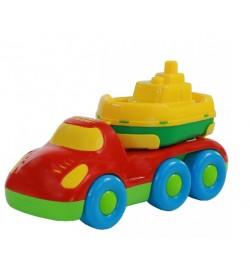 Автомобіль для перевезення кораблика