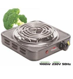 Плита электрическая переносная 1000w d140мм ME-0012G (12шт) печка
