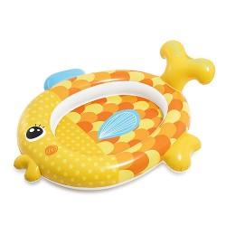 Бассейн 57111 (6шт) Золотая рыбка, 140-24-34см, ремкомплект, 1-3года, в кор-ке,