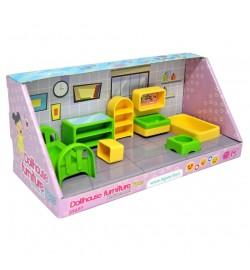 Набір меблів для ляльок (спальня) 7 ел.