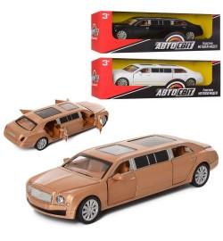 Машинка AS -1986 (30шт) АвтоСвіт, метал, інер-я, 18см, відкривши. двері, 3цвета, в кор-ке, 22-7-8см