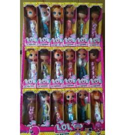 Лялька LOL L1885 з волоссям 6 видів в дисплеї 18 * 5 * 5,5 см герої лол