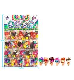 Лялька-герої LY1005 (200шт) POO, фігурка 8см, пляшечка, МІН.К-ВО для замовлення 20шт