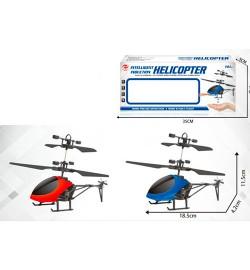 Вертолет CX138 (36шт) р/у, аккум, 19см, свет, USBзарядное, 2цвета, в кор-ке, 35-15-5см
