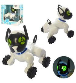 Собака SY6898B-2 (48шт) 12см, сенсорн, зв(англ),св, бат(таб), в кор-ке, 14-16-9,5см