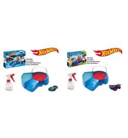 Паркинг Hot Wheels 2702/2703 с метал.машинкой и водяным бластером.меняет цвет.2в.кор.38*7*28 /36/