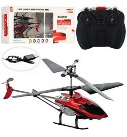 Вертолет E2208 (24шт) р/у,аккум,гироскоп,19,5см,свет,3,5 канала,USBзарядное,2цв,в кор,40-15,5-7см