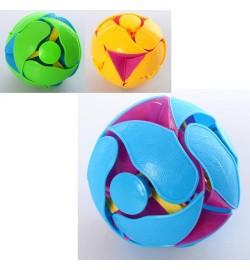 Мяч NH388 (150шт) трансформер, 3цвета, в кульке, 7-7-7см
