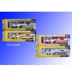 Набор моделек 6шт.Н36216(287927) транспорт 4в.метал.кор.35*12*3 /108/