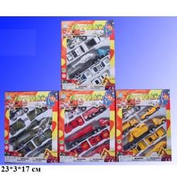 Набор моделек 7шт.Н36220(295927) транспорт 4в.метал.кор.23*17*3 /144/