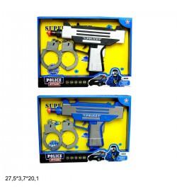 Поліцейський набір HY8003-11 / 12 батар.муз.свет.2цв.кор.27,5 * 3,7 * 20,1 / 120 /