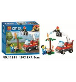 Конструктор 11211 (96шт/2)в кор. 19*17*4,5см cities