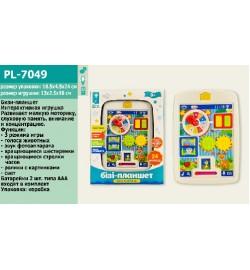 Муз разв.БІЗІ-планшет PL-7049 (48шт)батар.,в кор. 19*4,5*25см головоломка