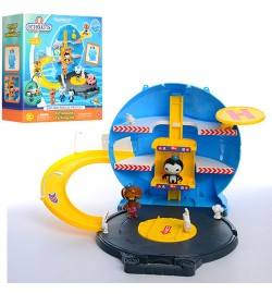 Набор игровой HD-002 (32шт) OC, чемодан-игров.площад,фигурки 2шт(6см и7см),в кор-ке,27-30,5-11,5см