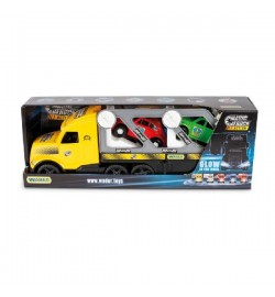 Magic Truck з авто купе машина трейлер