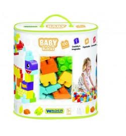 Baby Blocks Мои первые кубики - 100 шт (в сумке) кубики конструктор