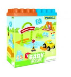 Baby Blocks Мои первые кубики - 30 шт (в коробке) кубики-конструктор