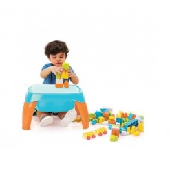 Столик розвиваючий з кубиками 42 ел. конструктор