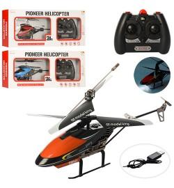 Вертолет 33024K (9шт) р/у2,4G,аккум,27см,свет,гироскоп,USBзарядн,3цвета,в кор-ке,50-20,5-8см