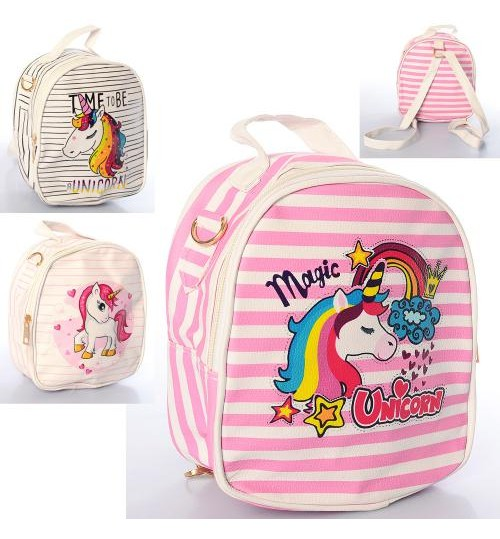 Сумочка X16300 (40шт) 17-19-8см,2в1-рюкзак,застежка-молния, длинная ручка,3вида, в кульке, 19-20-3с